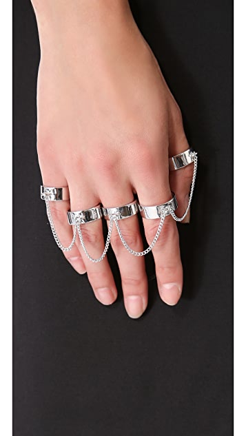 Eddie Borgo Five Finger Ring