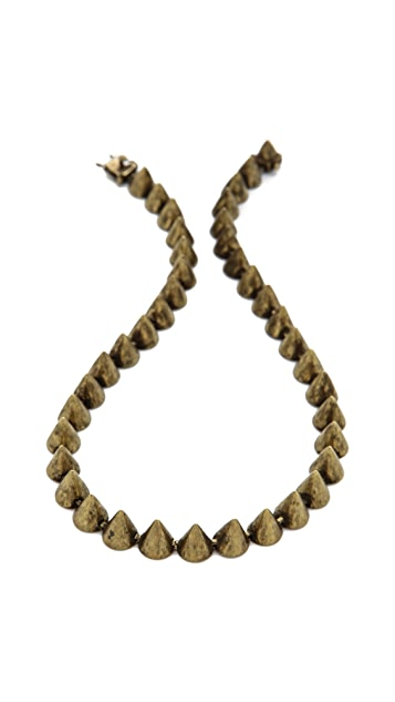 Eddie Borgo Small Cone Necklace