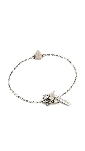 Eddie Borgo One Cone Bracelet