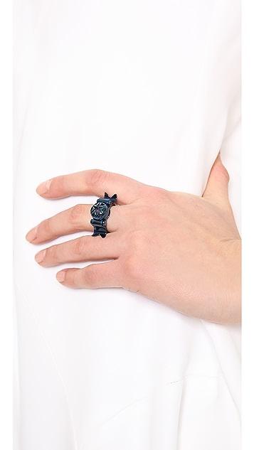 Eddie Borgo Notched Flash Ring