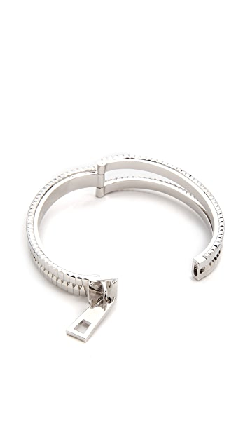 Eddie Borgo Zip Bracelet