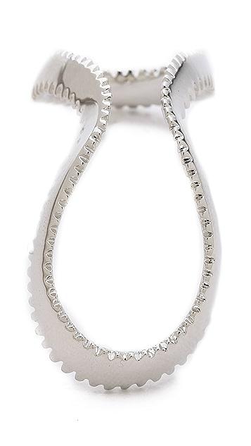 Eddie Borgo Zip Rings