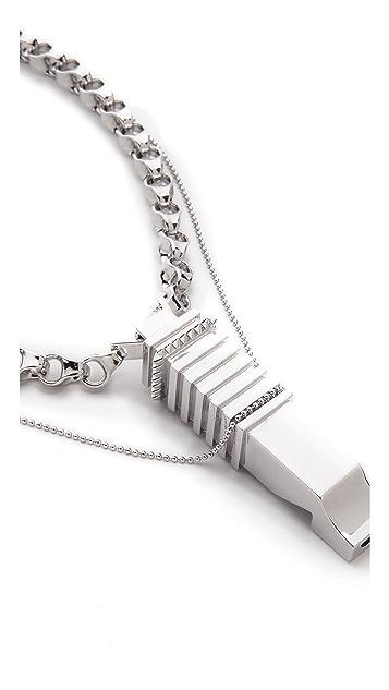 Eddie Borgo Whistle Pendant
