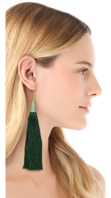 Eddie Borgo Pave Earrings