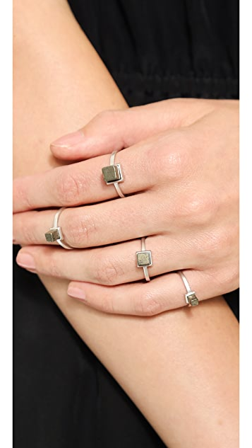 Eddie Borgo Stackable Cube Rings