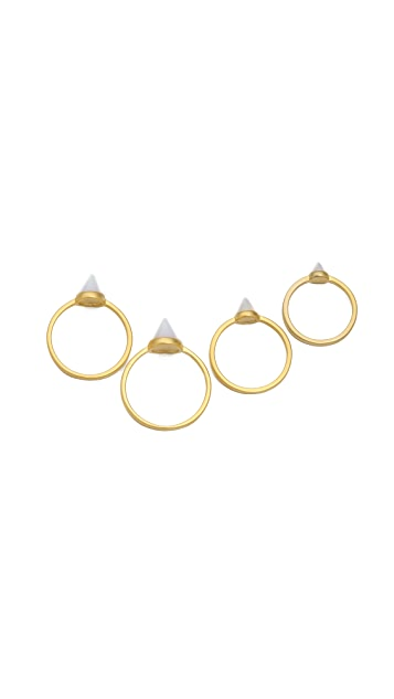 Eddie Borgo Stackable Cone Rings
