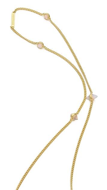 Eddie Borgo 9 Station Cone Necklace