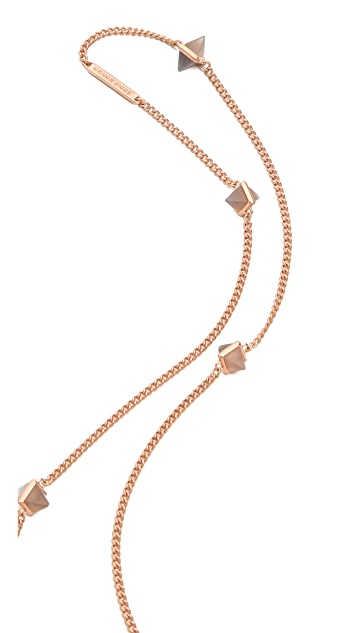 Eddie Borgo 9 Station Pyramid Necklace