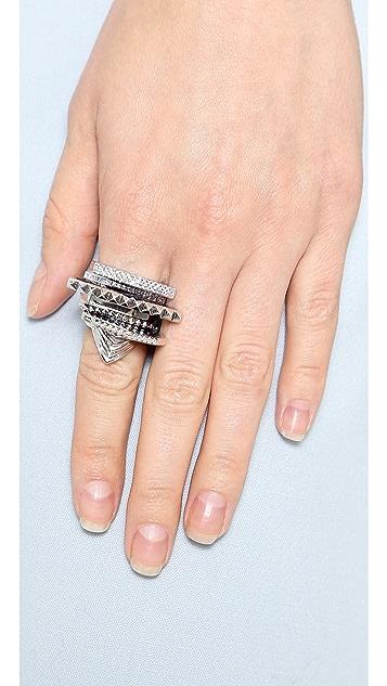 Eddie Borgo Tuareg Ring Set