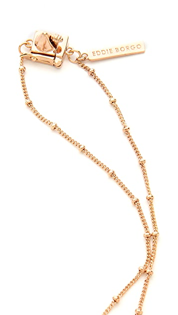 Eddie Borgo Small Chain Tassel Pendant Necklace