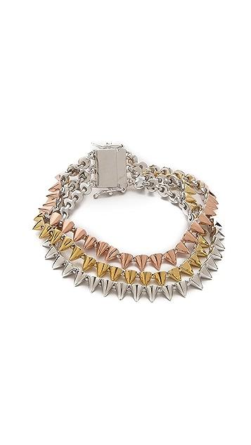 Eddie Borgo Triple Cone Bracelet