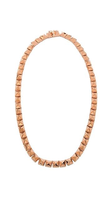 Eddie Borgo Pyramid Necklace