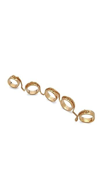 Eddie Borgo Five Finger Ring