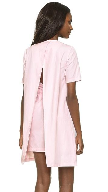 EDIT Open Back Mini Dress
