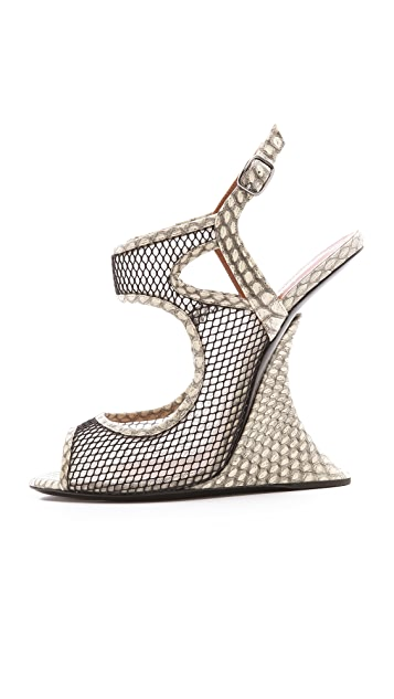 Edmundo Castillo Chica Queen Wedge Sandals