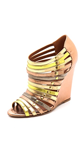 Edmundo Castillo Uma Strappy Wedge Sandals