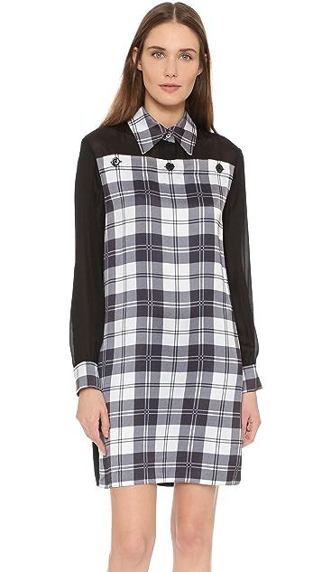 EDUN Tartan Shirtdress