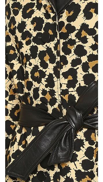 EDUN Leopard Coat