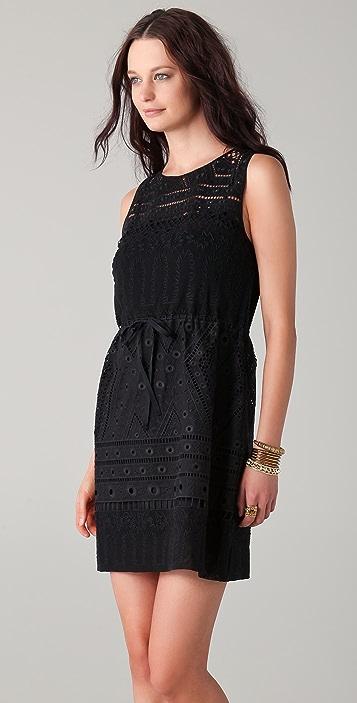 EDUN Lace Shift Dress