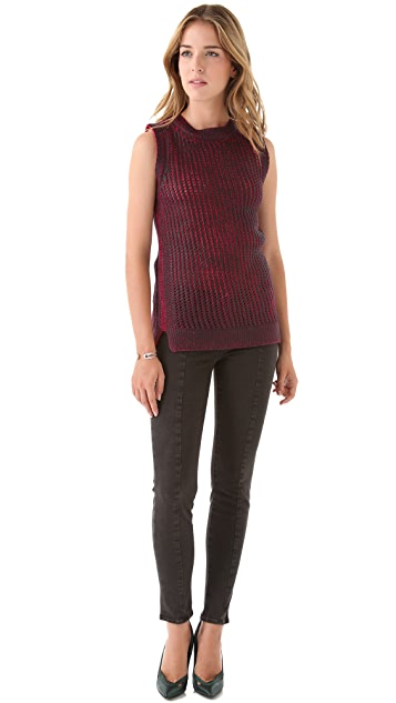 EDUN Hand Knit Tank Sweater