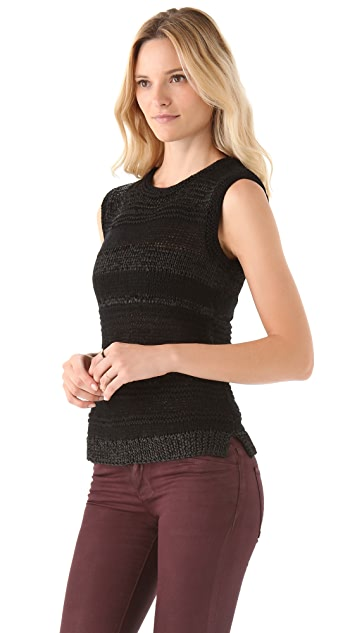 EDUN Mixed Yarn Sweater Tank