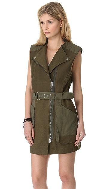 EDUN Belted Vest