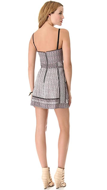 EDUN African Sun Bustier Dress