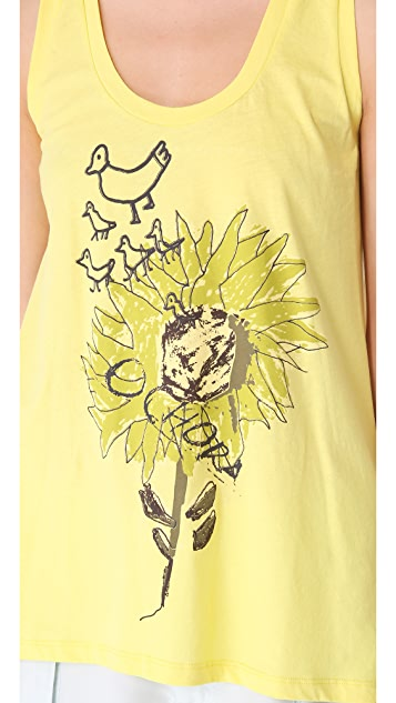 EDUN Sunflower Tank
