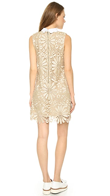 ENGLISH FACTORY Daisy Lace Shift Dress