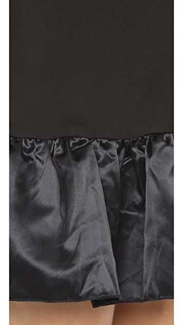 ENGLISH FACTORY Flounce Dress