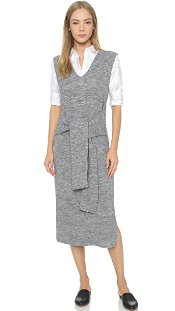 8bc5e62ff5221 ENGLISH FACTORY Tie Front Dress