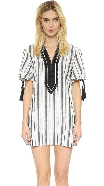ENGLISH FACTORY Stripe Tunic Dress
