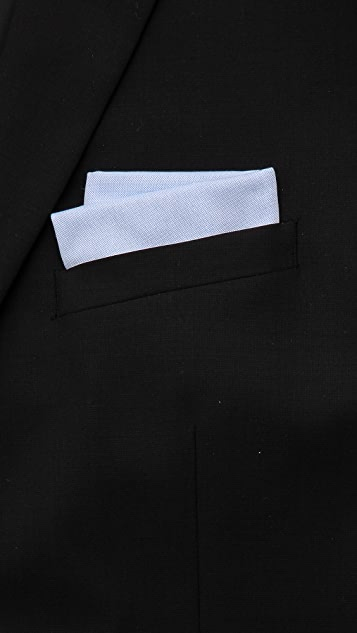 East Dane Gifts Embroidered Mt. Fuji Handkerchief