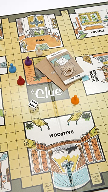 East Dane Gifts Clue Nostalgia Edition