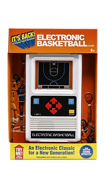 East Dane Gifts Electronic Basketball