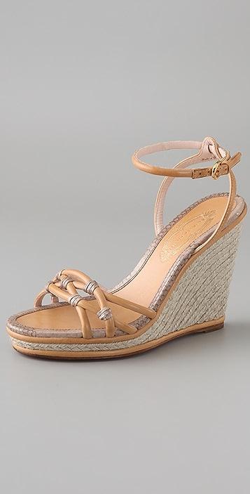 4da778912d1 Elie Tahari Angela Wedge Espadrille Sandals