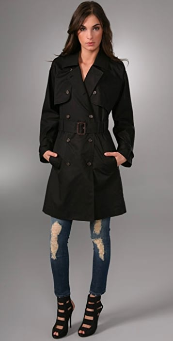 Elizabeth and James Convertible Trench Coat