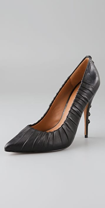 Elizabeth and James Jazz Button Pumps