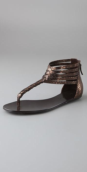Elizabeth and James Blaze Flat Thong Sandals