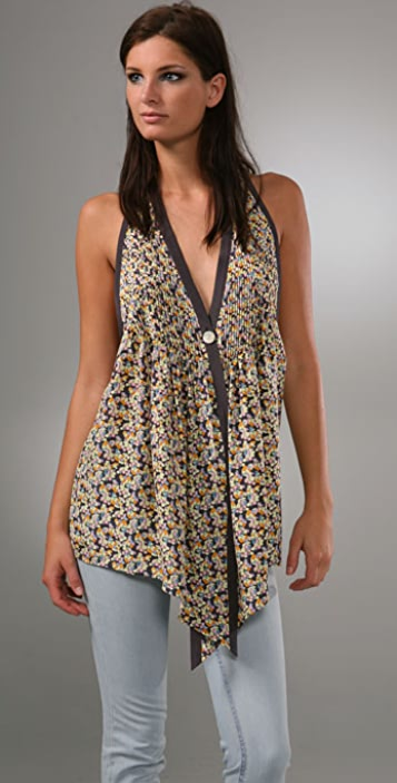 Elizabeth and James Sleeveless Tokyo Top