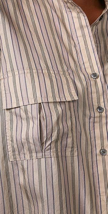 Elizabeth and James June Striped Shirt
