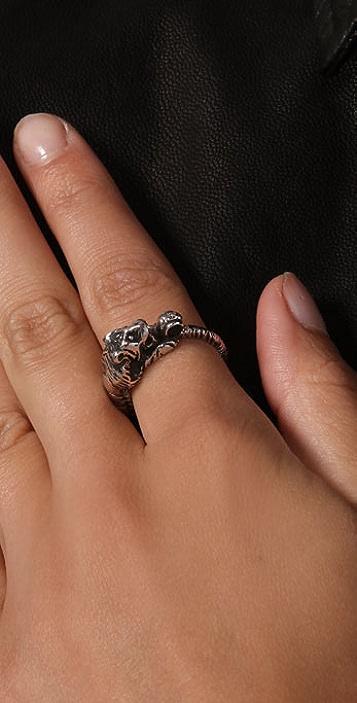 Elizabeth and James Tiger Ring