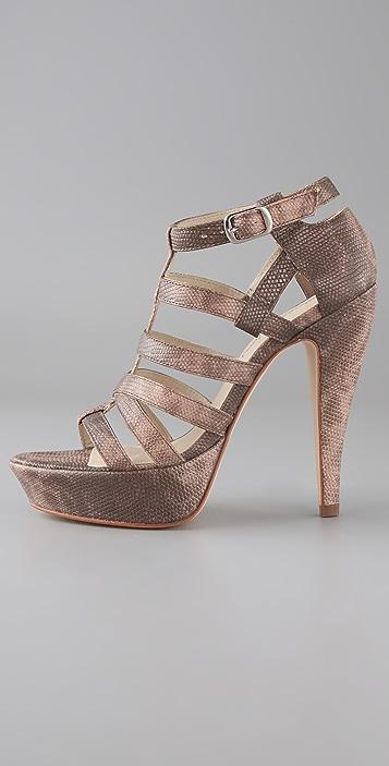 Elizabeth and James Manic Gladiator Platform Sandals