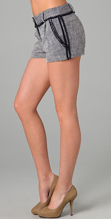 Elizabeth and James Billy Tweed Shorts