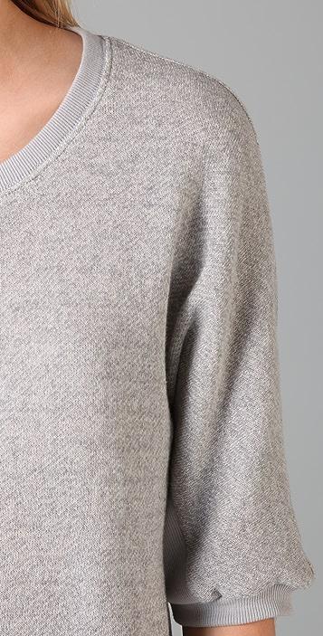 Elizabeth and James Lace Up Sweatshirt