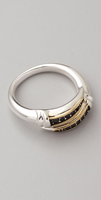 Elizabeth and James Sterling Silver Bypass Ring