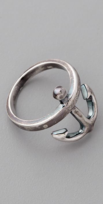 Elizabeth and James Anchor Ring