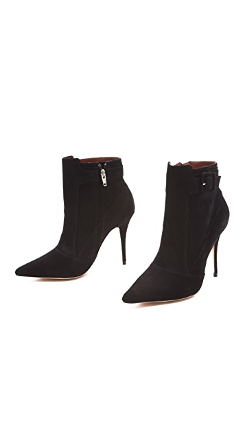 Elizabeth and James Sire Suede Booties