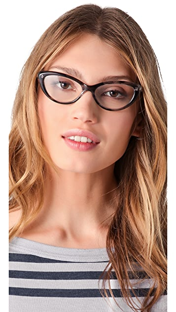 Elizabeth and James Valencia Glasses