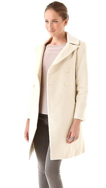 Elizabeth and James Janeane Coat with Fur
